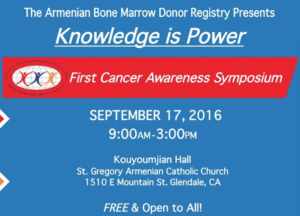 Armenian Bone Marrow Donor Registry Symposium