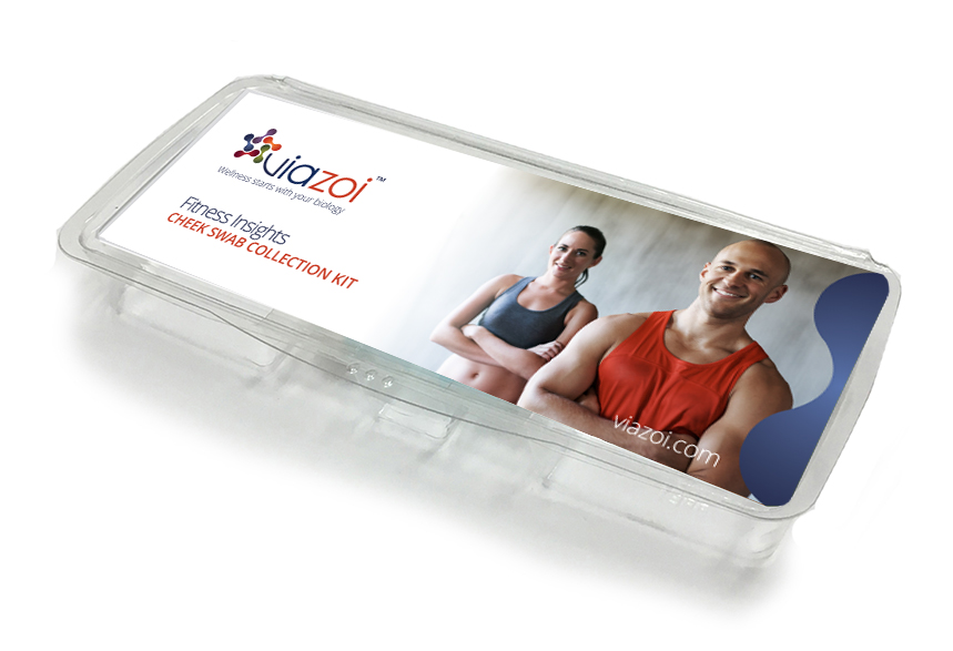 Cheek swab kit for Fitness Insights