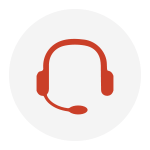 An outline of a headset - an icon